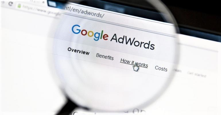 Google Adwords under magnifying glass