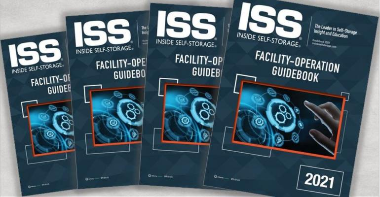 ISS Store Featured Product: Inside Self-Storage 2021 Facility-Operation Guidebook