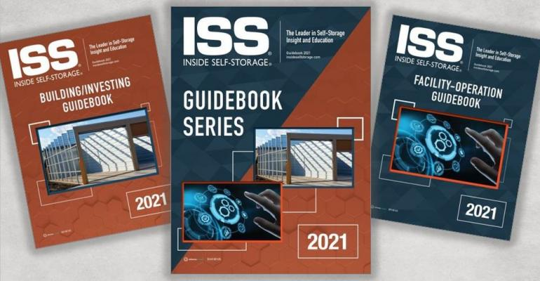 ISS Store Featured Product: 2021 Self-Storage Guidebooks on Facility Operation, Building/Investing