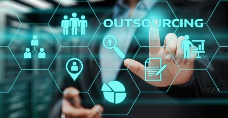 Outsourcing screen