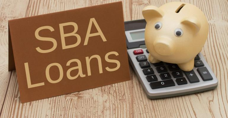 SBA loans calculator piggy bank