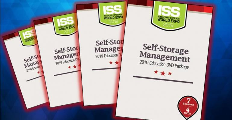ISS Store Featured Product: New Self-Storage Management Video Set