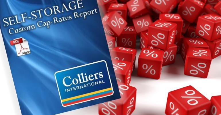 ISS Store Featured Product Self-Storage Custom Cap-Rates Report From Colliers International