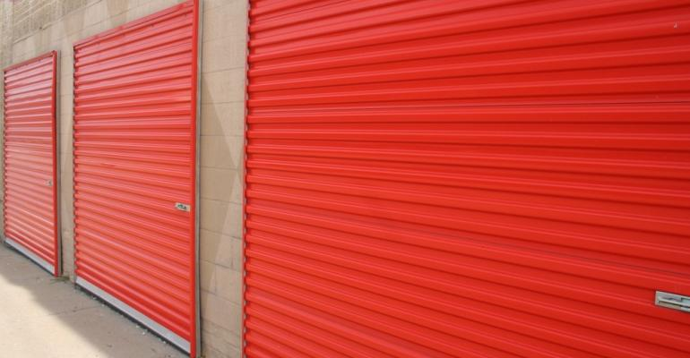 Self-storage doors