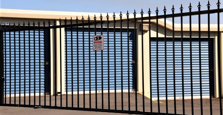 Self-Storage-Iron-Fence-Gate