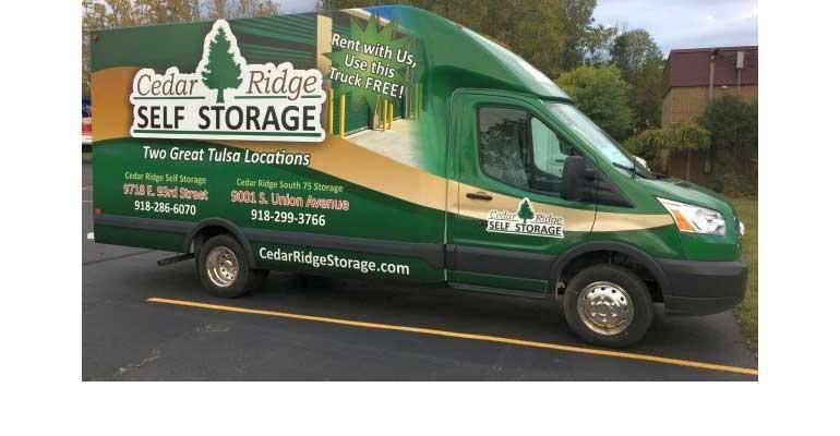 Self-Storage Rental Truck