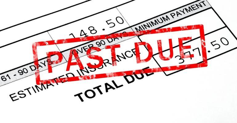 Self-Storage-past-due-invoice-upaid-rent
