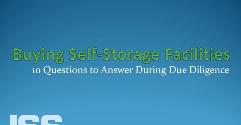 Buying Self-Storage Facilities
