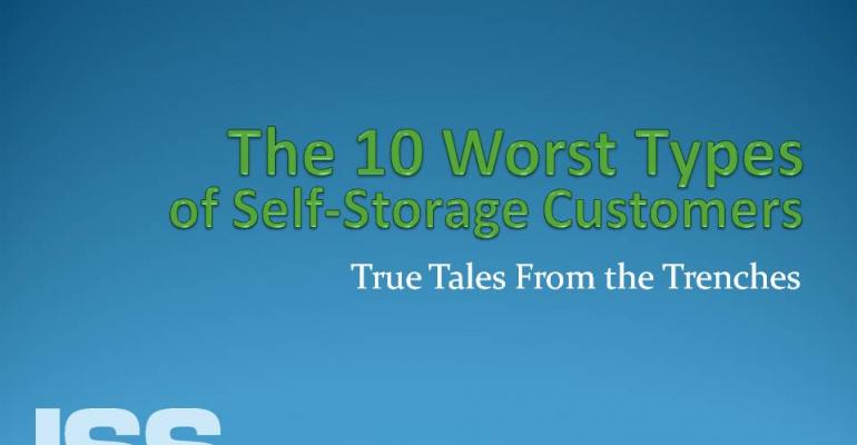 The 10 Worst Types of Self-Storage Customers: True Tales From the Trenches