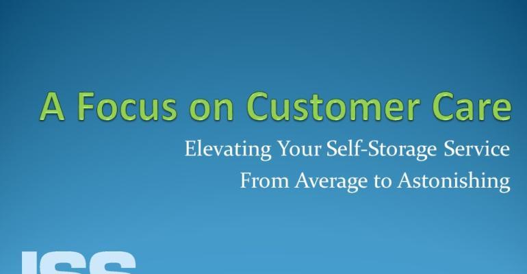 Focus on Customer Care