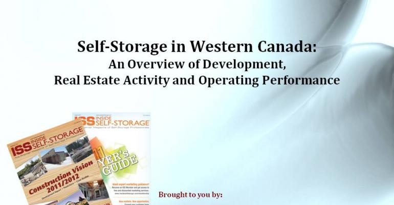 Self-Storage in Western Canada: An Overview