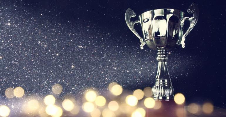 Sparkling trophy