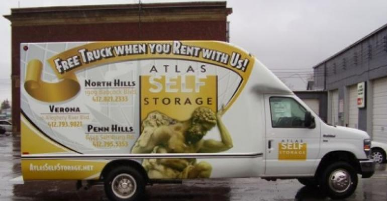 Self-storage truck rental