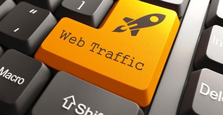 Web Traffic Keyboard Rocket