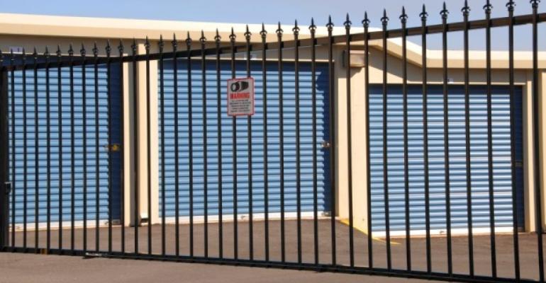Self-Storage Security Fence