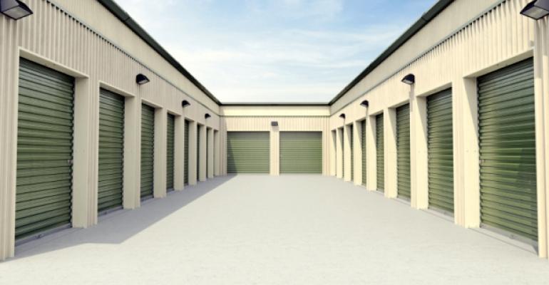 Green Self-Storage Doors