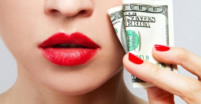 Sexy Lips Money Bill