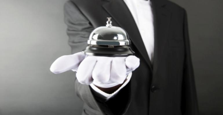 Valet Bell White Glove