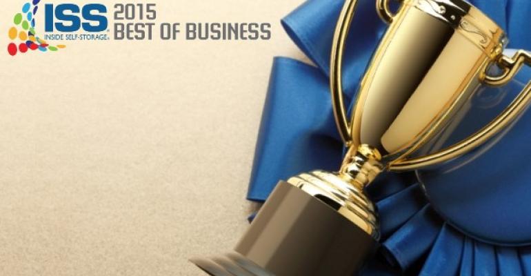 Inside Self-Storage 2015 Best of Business Winners