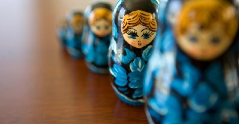 Business Succession Matryoshka Dolls