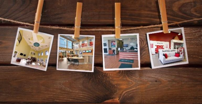 Self-Storage Interiors Photo Collage