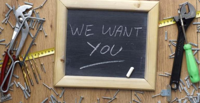 Help Wanted Sign Construction
