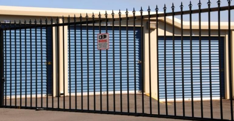 Self-storage gate