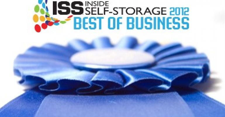 Inside Self-Storager 2012 Best of Business Winners