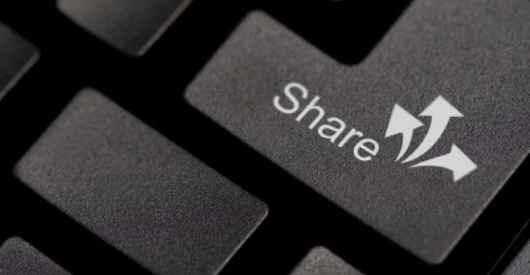 Social Networking Share Button