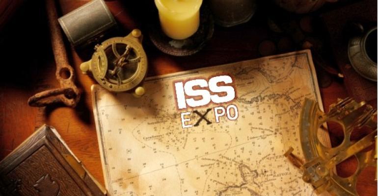 Treasure at ISS Expo