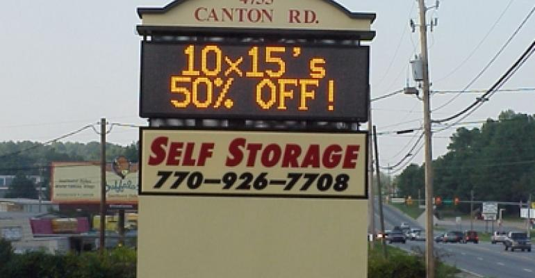 Self-Storage Sign