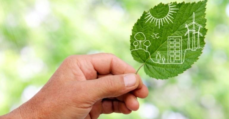 Eco-Friendly Green Leaf