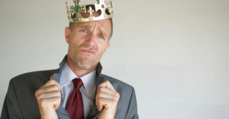 King Businessman Crown
