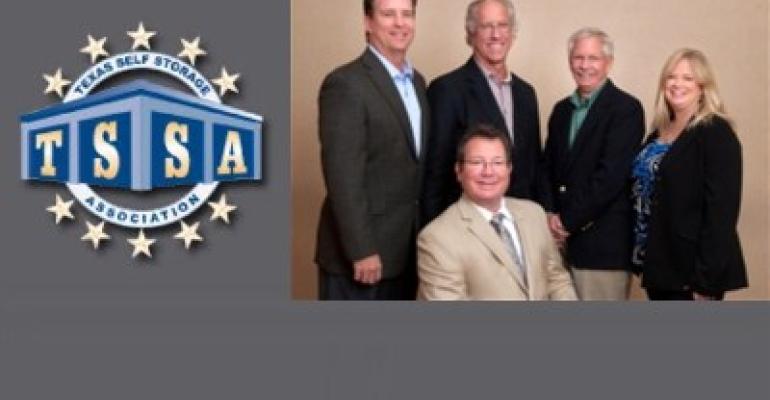 Texas Self Storage Association 2012 Officers