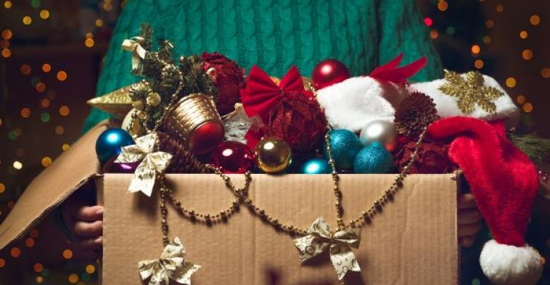 Help Self-Storage Tenants Repack Holiday Decorations