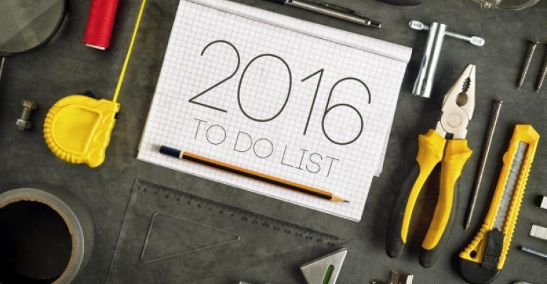 2016 To-Do List