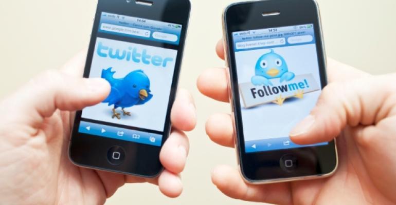 Twitter Tweet phone