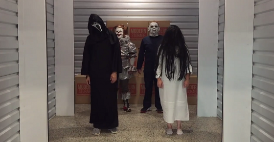 Modern Storage Scares Up Halloween Fun With Some of Your Favorite Horror Characters